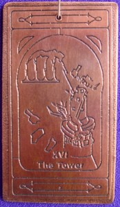 Tower copper talisman