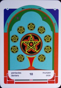 solid completion at hand, prosperity, close relationships, ability to share