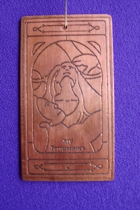 Temperance copper talisman