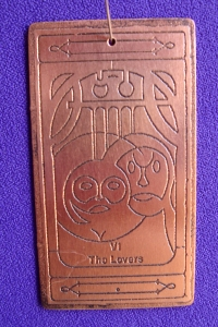 The Lover copper talisman